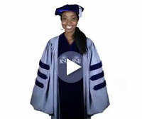 Screenshot: NSU Doctoral and Juris Doctorate Hooding Video