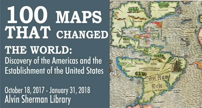 100 Maps that changed the world exhibit