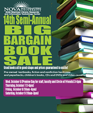 14 annual book sale