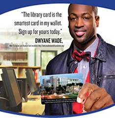 dwyane wade library card sign up