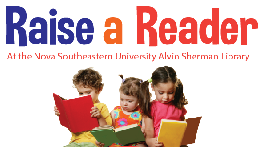 Raise a reader Program includes Sharkey Story Times