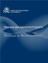 Division of Responsibilities for Research and Sponsored Programs