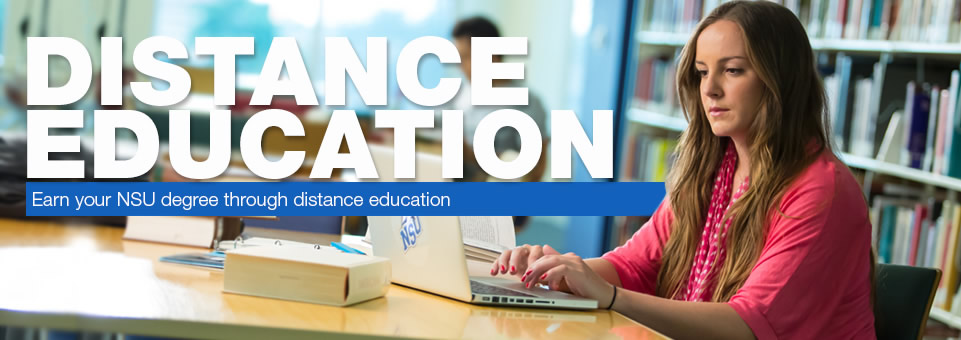 Distance Education...Earn your degree through distance education
