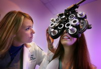Optometry students
