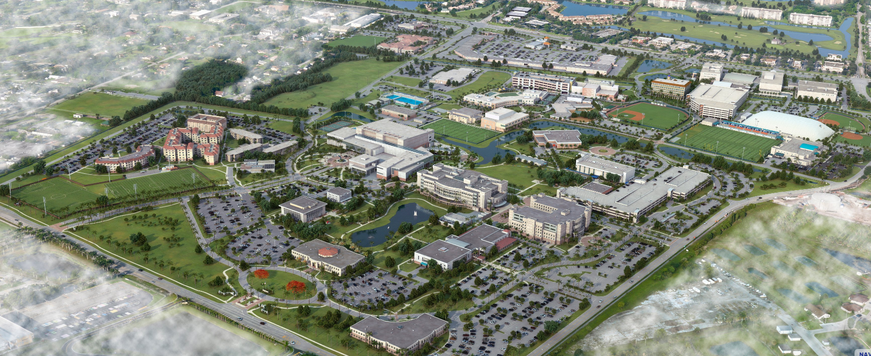NSU Campus Map