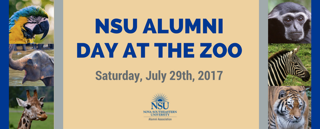 NSU Alumni Day at the Zoo