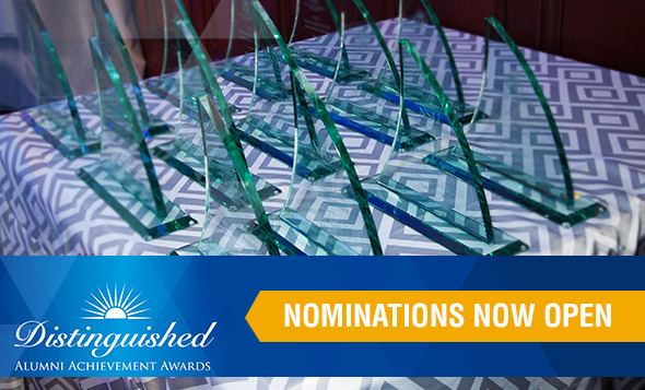Distinguished Alumni Awards Nominations Open