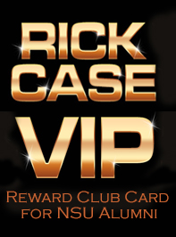 Rick Case Reward Club Card