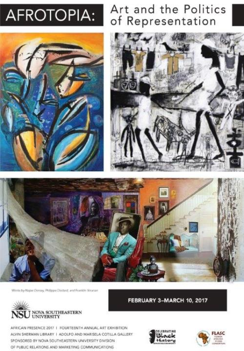 "Grand Opening Reception –""Afrotopia: Art and the Politics of Representation,"" African Presence 2017, 14th Annual Art Exhibition"