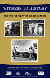 FLYER: Witness to History - The Photography of Ernest Withers