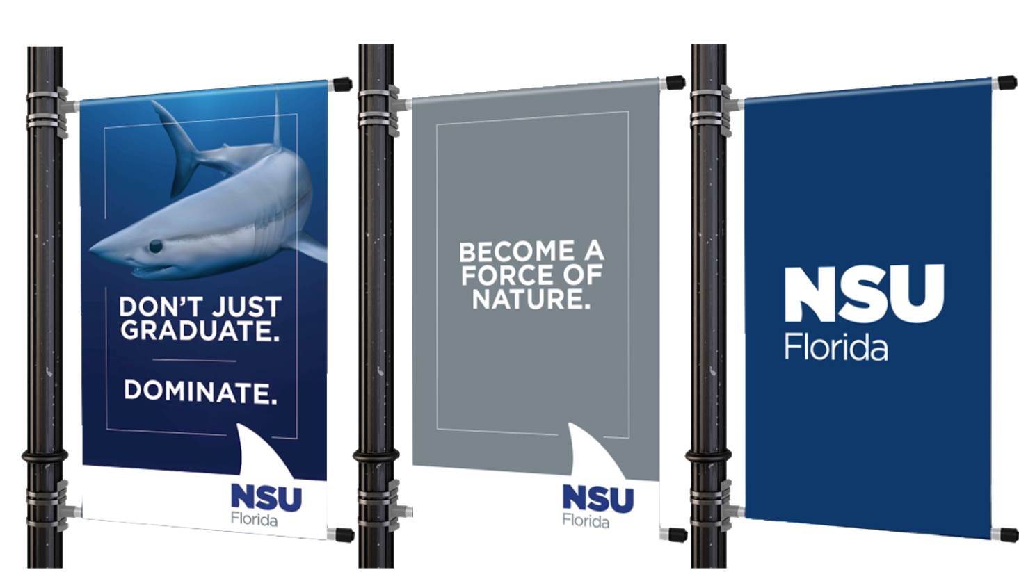 NSU Florida Lamp Post Banners