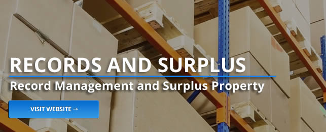 Records and Surplus Management