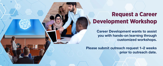 Request a Career Development Workshop