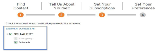 Set subscriptions.