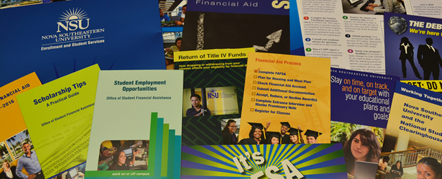 NSU Financial Aid Publications