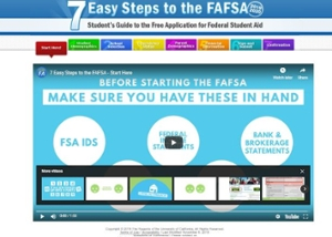 7 easy steps to file the fafsa