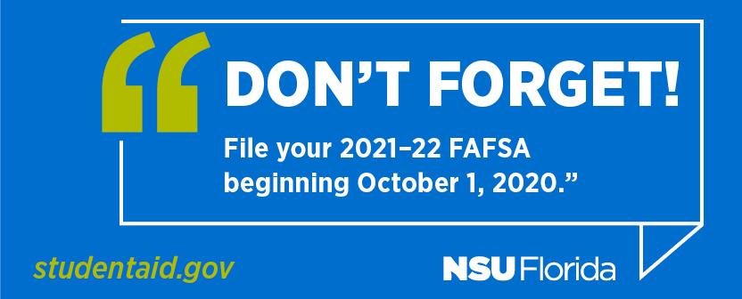Student Financial Assistance | Nova Southeastern University