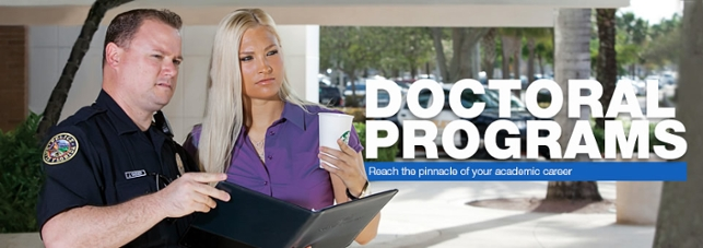 Doctoral Programs...Reach the pinnacle of your academic career