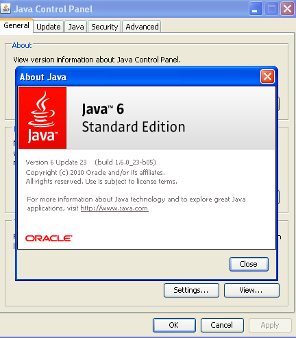 About Java Screen
