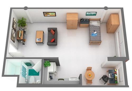 Rolling Hills Building C Undergraduate Housing – University Of Florida Housing Floor Plans