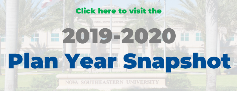 2019-2020 plan year information