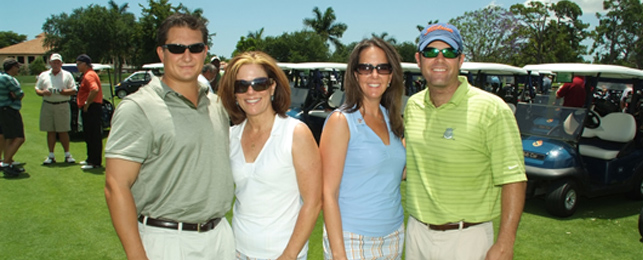 5th Annual Fore the Kids Saving Lives Golf Charity - Golf Committee Mr. DeBiasi, Dr Mulligan, Ms. Frank & Mr. Dambeck