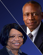 Dr. Michael Caldwell and Dr. Marguerite Bryan
