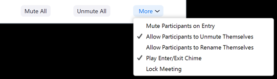 Mute Directions
