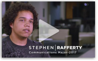 Stephen Rafferty NSU Communications Student Video
