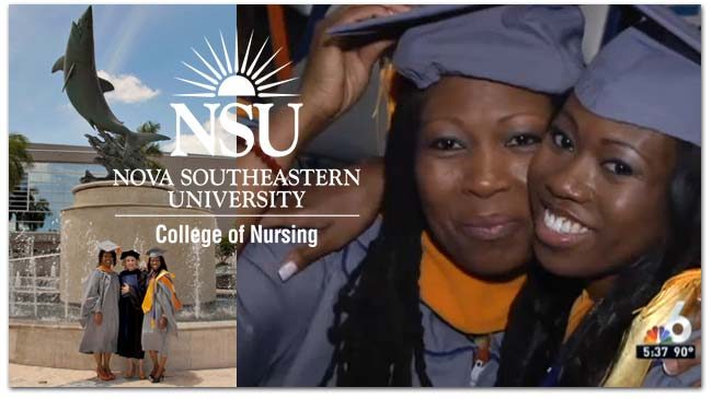 Mother Daughter Duo Graduate from NSU Together