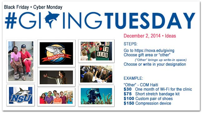 Link for Giving Tuesday
