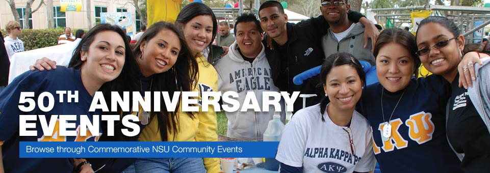 Browse through Commemorative NSU Events