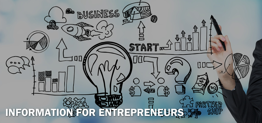 Information for Entrepreneurs