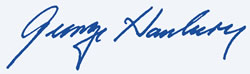 George Hanbury's Signature