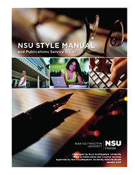 Nova Southeastern University Style Manual