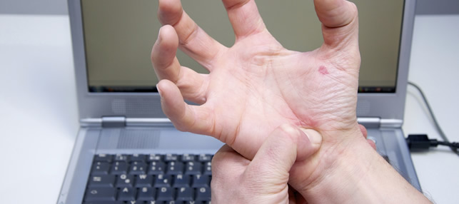 Good ergonomics can reduce the chances of Carpal Tunnel Syndrome
