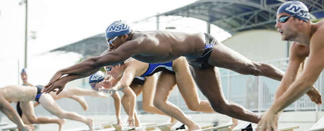 NSU swimmer at the Olympics