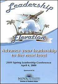 FLYER: Spring 2009 Leadership Conference
