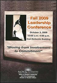FLYER: Fall 2009 Leadership Conference