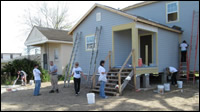 Habitat for Humanity of New Orleans - Victims of Hurricane Katrina, March 3-9, 2013