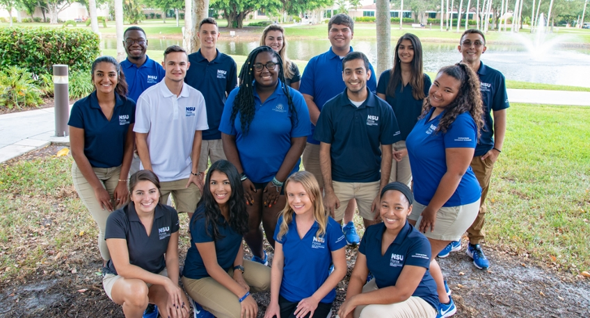 New Student Ambassadors at NSU