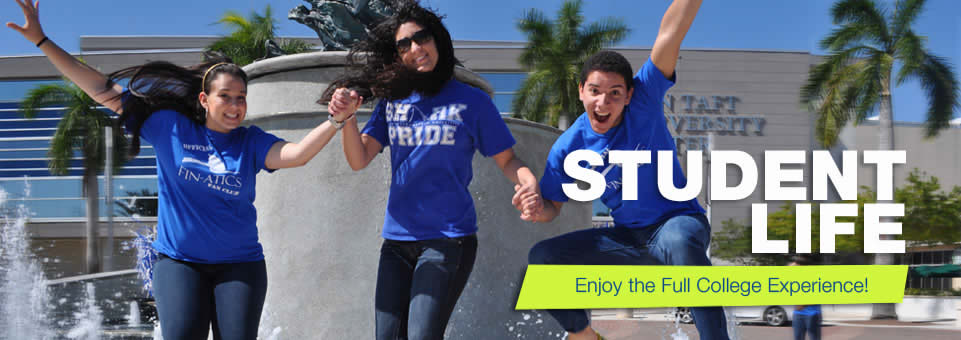 Student Life - Enjoy the Full College Experience!